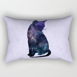 Galactic Cat Rectangular Pillow