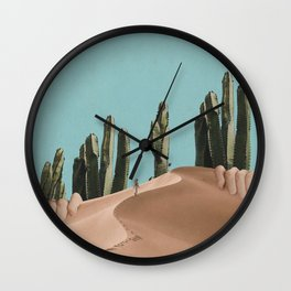 Is There Life on Earth I Wall Clock