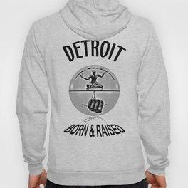 Detroit - Born & Raised - Dark Hoody