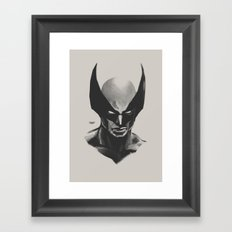 X sketch 05 Framed Art Print