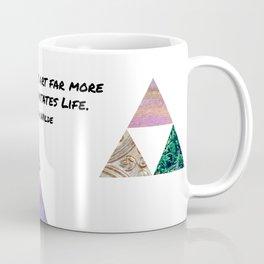 Life Imitates Art Coffee Mug