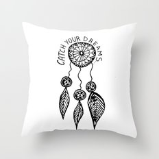 Catch your dreams  Throw Pillow