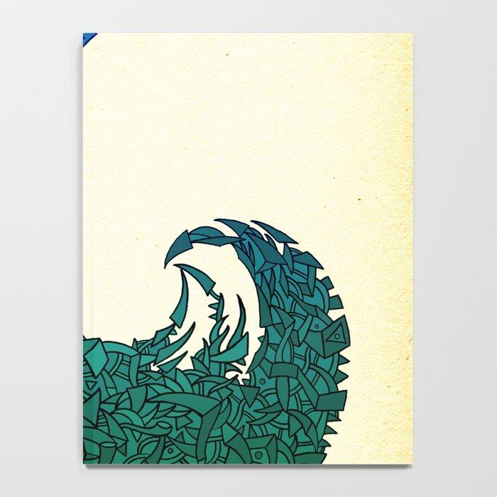 - summer wave - Notebook