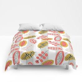 Happy Leaves  #society6 #buyart #decor Comforters