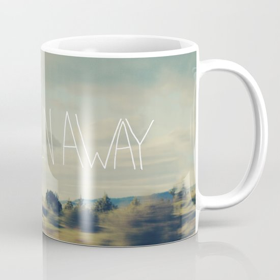 Let's Run Away Mug