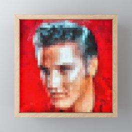 Elvis still alive ? Framed Mini Art Print