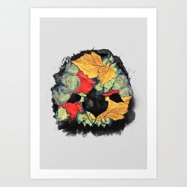Death of Autumn Art Print