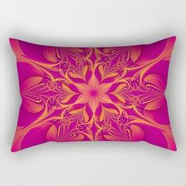 Hearts and Flowers Rectangular Pillow