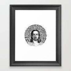 Non-Stop Framed Art Print