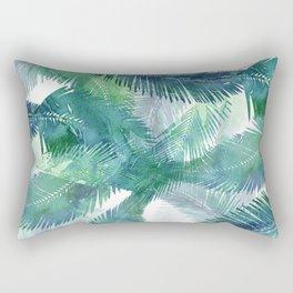 Watercolor Tropical Rectangular Pillow