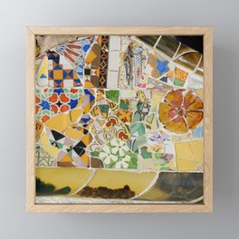 Parc Güell Framed Mini Art Print