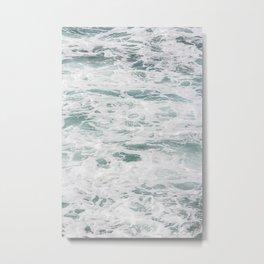 Ocean Pool Metal Print
