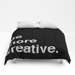 Be more creative Comforters