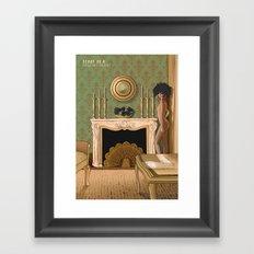 STORY OF O Framed Art Print