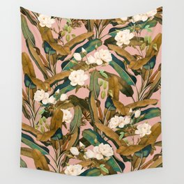 Summer Botanical Garden V Wall Tapestry