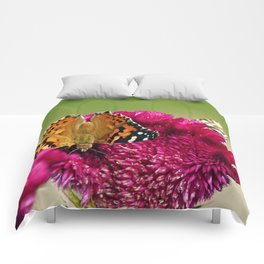 Painted Lady Butterfly Comforters