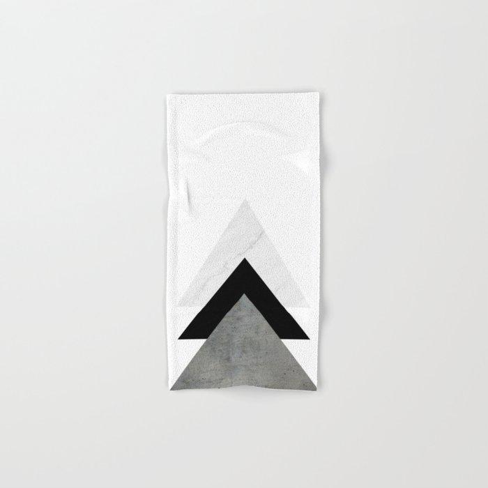 Arrows Monochrome Collage Hand & Bath Towel