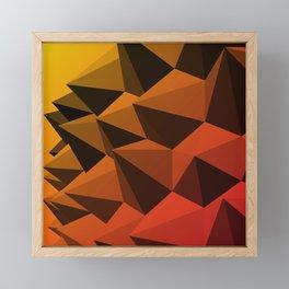 Spiky Brutalism - Swiss Army Pavilion Framed Mini Art Print