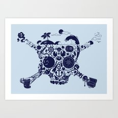 Pirates Stuff Art Print
