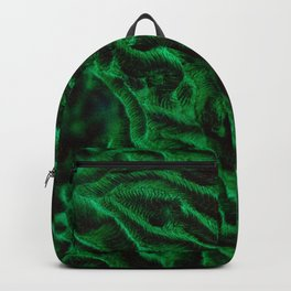 Fluoro Topography Coral Backpack