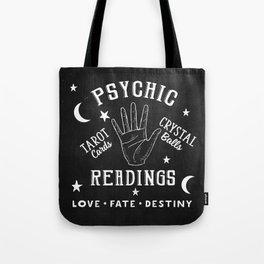 Psychic Readings Fortune Teller Art Tote Bag