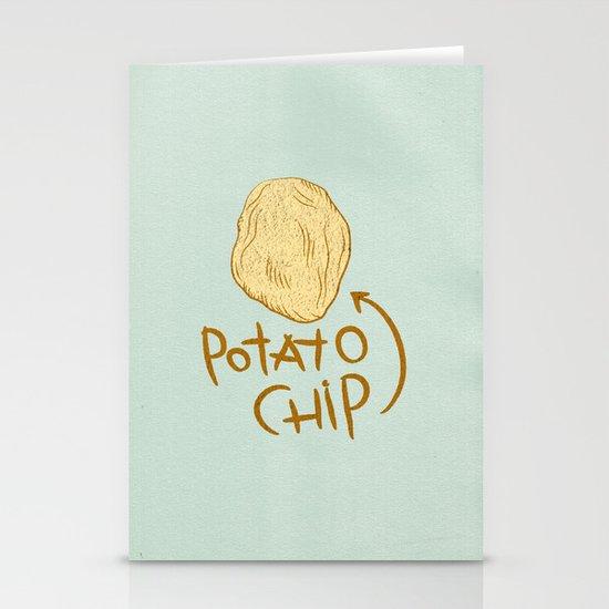 POTATO CHIP Stationery Cards