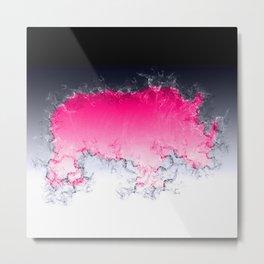 Splash Rhino Metal Print