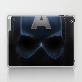 Capt America - Cowl Portrait Laptop & iPad Skin