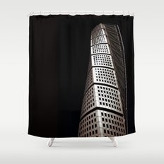 Turning Torso Shower Curtain
