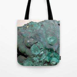 Natural Malachite Tote Bag