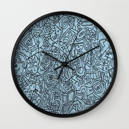 Doodles Wall Clock