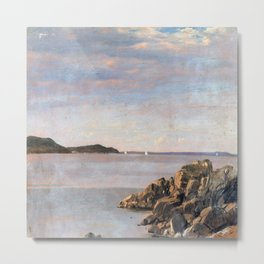 Frederic Edwin Church Mount Desert Island Metal Print