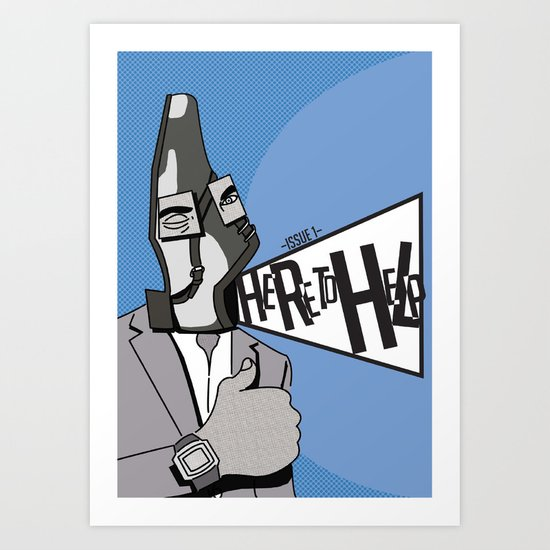 Here to Help Art Print