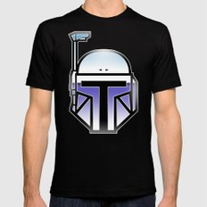 Mandalorian in disguise Mens Fitted Tee Black X-LARGE