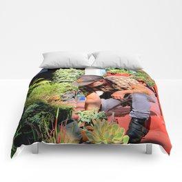 The Gardener Next Door Comforters
