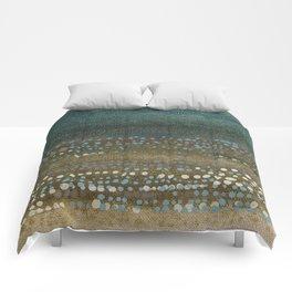 Landscape Dots - Night Comforters