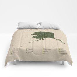 Alaska Parks Comforters