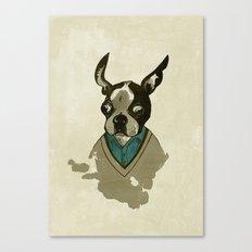 perfect gentleman Canvas Print