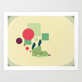 In The Child Whom Sleeps Art Print
