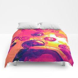 Surreal Spherical Entities Comforters