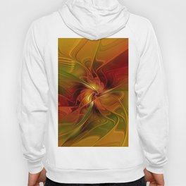 Warmth, Abstract Fractal Art Hoody