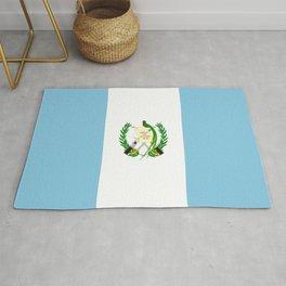 Flag of Guatemala- Guatemalan, Mixco,Villa Nueva,Petapa,tropical,central america,spanish,latine Rug
