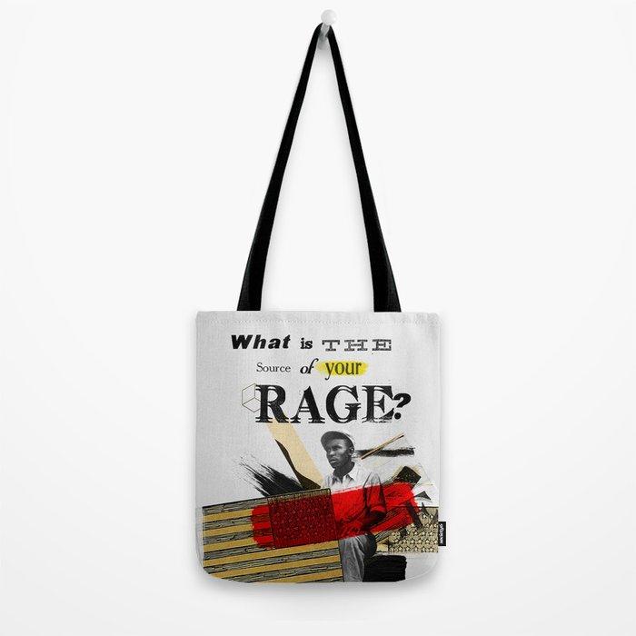 Rage Tote Bag