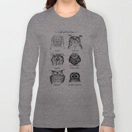 Caffeinated Owls Langarmshirt