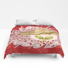 Sombrero and maracas Comforters
