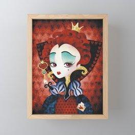 Queen of Hearts Framed Mini Art Print