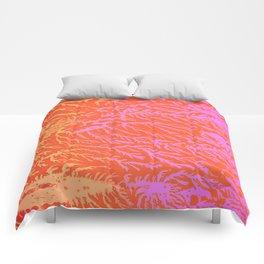 Pink & Orange Cedar Comforters