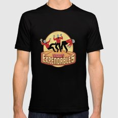 Redshirt Expendables Mens Fitted Tee Black LARGE