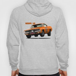 General Lee Dodge Charger Hoody