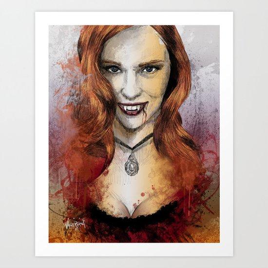 Oh My Jessica - True Blood Art Print